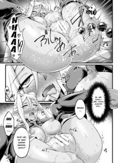 Kuroinu ~Kedakaki Seijo wa Hakudaku ni Somaru~ THE COMIC - Foto 122