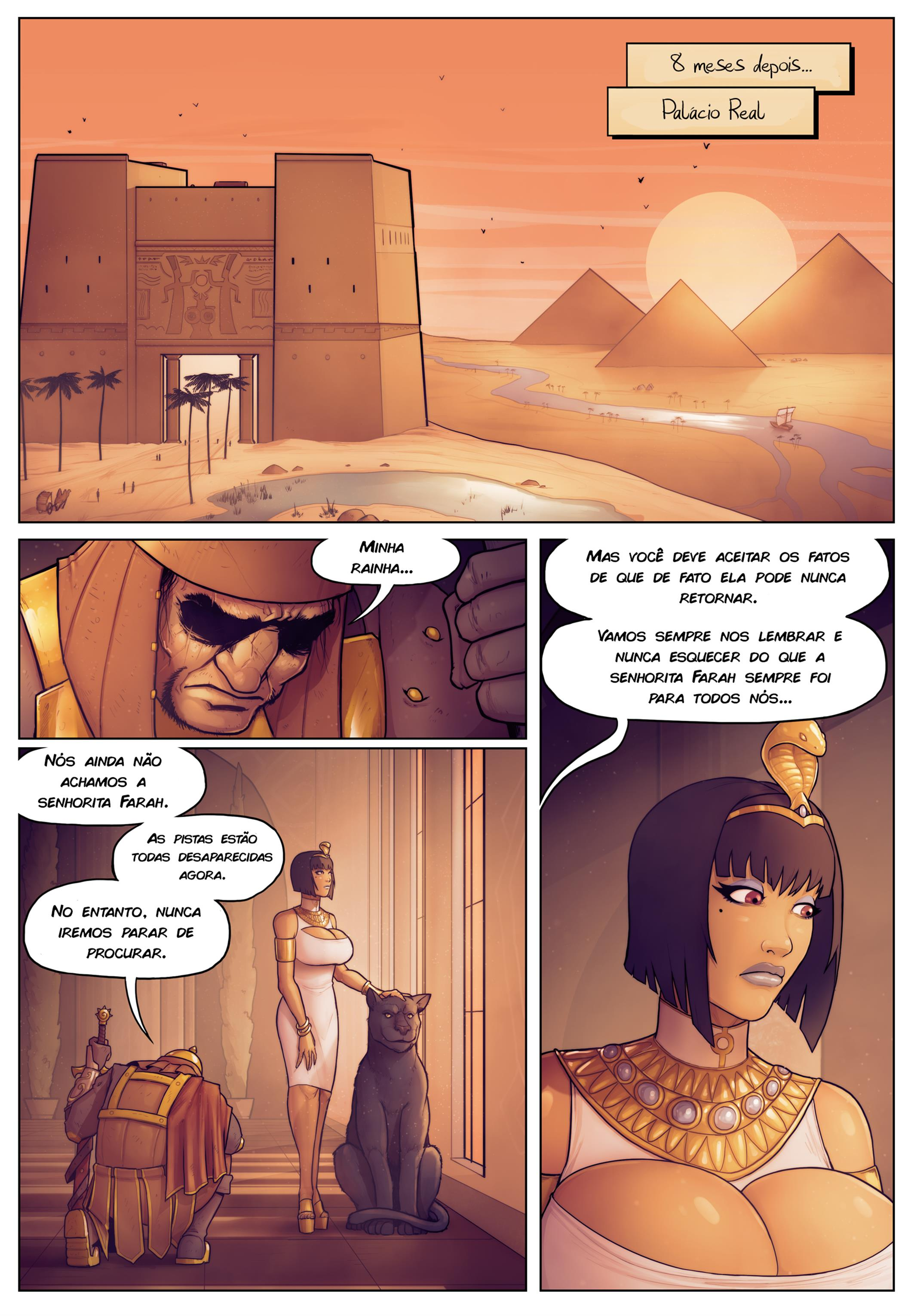 Tales of Farah: In the Shadow of Anubis