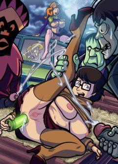 Scooby Doo Pornô 2 - Foto 12