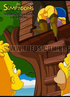 Trepando na Casa da Árvore