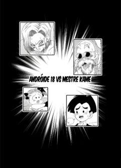 Andróide 18 vs Mestre Kame - Foto 4