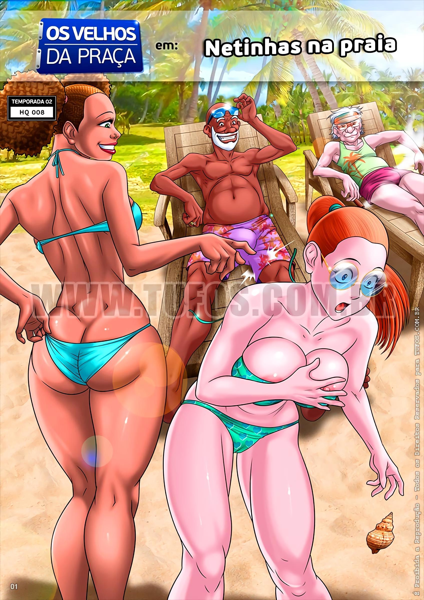 Netinhas na Praia