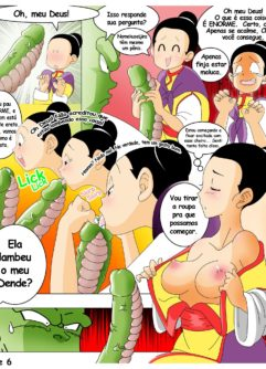 Dragon Ball Yamete Chichis Saga - Foto 6