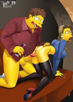 Simpsons Pornô 2 - Foto 11