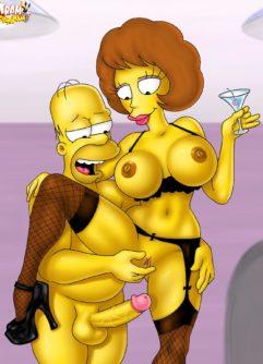 Simpsons Pornô 2 - Foto 13