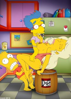 Simpsons Pornô - Foto 48