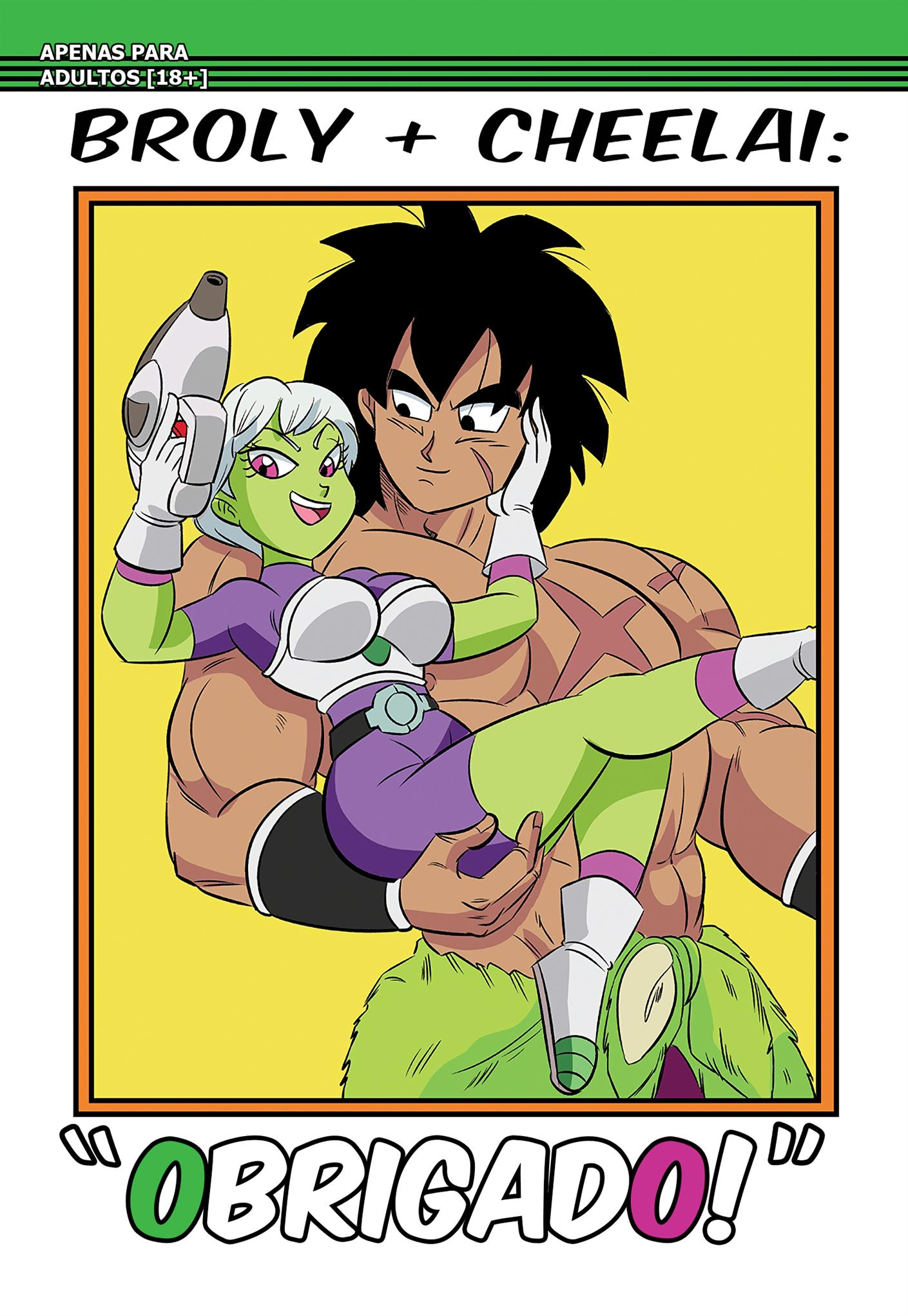 Broly x Cheelai : Thank You!