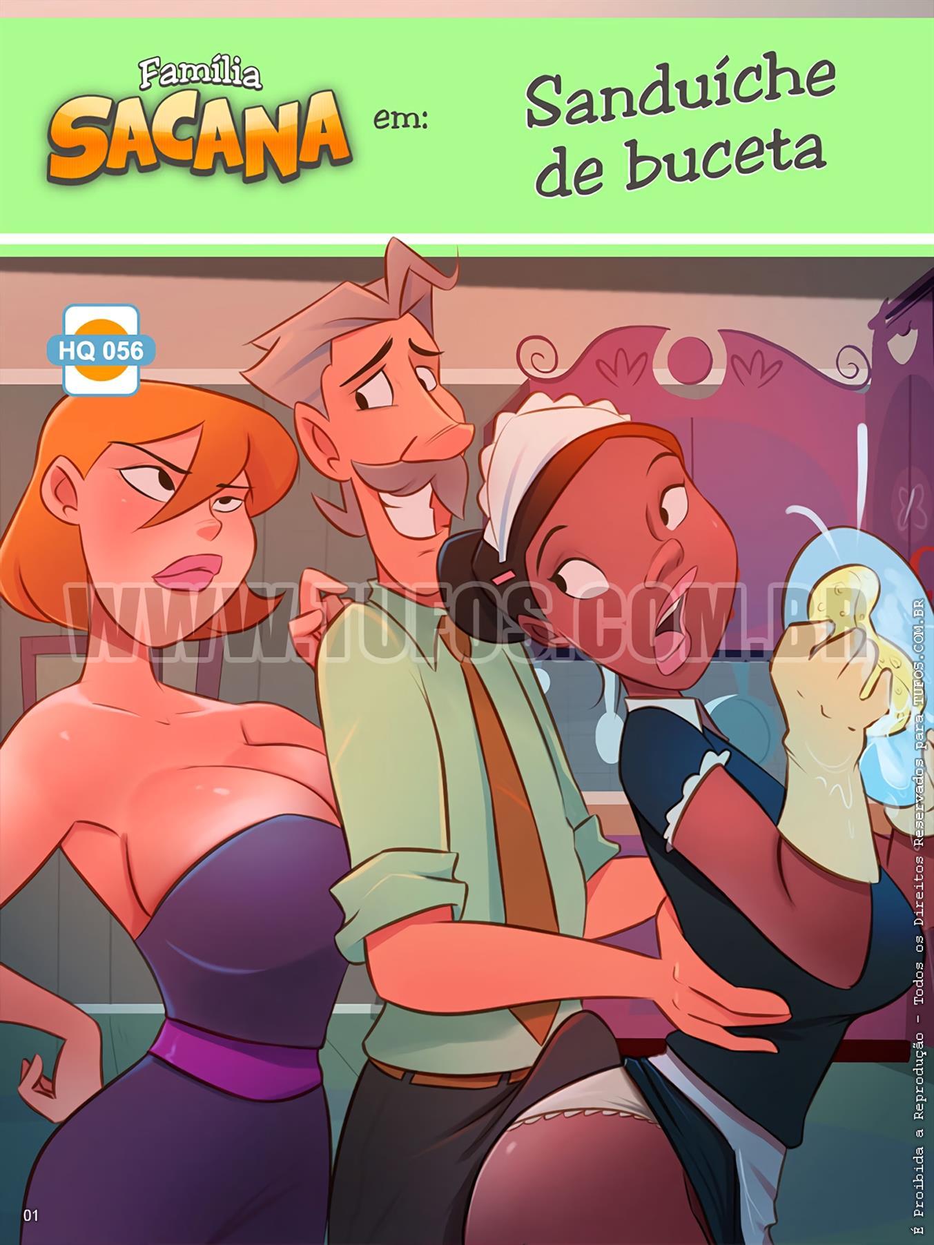 Sanduíche de Buceta